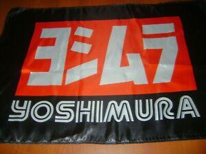 """Yoshimura 20x30"""" Flag Banner Show Garage Racing Shop Deco Race Motorcycle Yoshi"""
