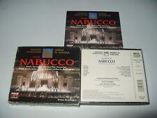 Giuseppe Verdi  Nabucco (1996) cds + Inner thick Booklet are Ex +/Outer box g/vg