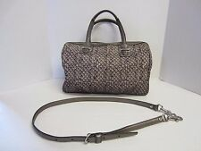 Coach Purse Taylor Snake Print Satchel Handbag Gray G1393-F26037