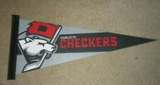 AHL Charlotte Checkers Hockey Team Pennant