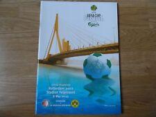 2002 - FEYENOORD v BV BORUSSIA DORTMUND - UEFA CUP FINAL PROGRAMME