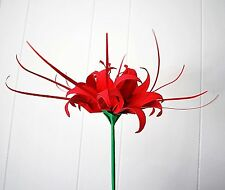 Origami spider Lily Paper Flower Centerpiece wedding anniversary decor GIFT