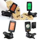 Mini Chromatic Clip-On LCD Digital Tuner For Acoustic Guitar Bass Violin Ukulele
