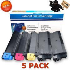 5 PK TK592 High Yield Toner Cartridge For Kyocera Mita FS-C2026MFP FS-C2126DN