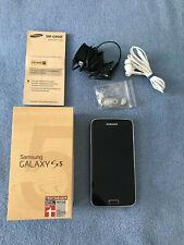 Samsung  Galaxy S5 SM-G900F - 16GB Electric Blue Smartphone mit Zubehörpaket