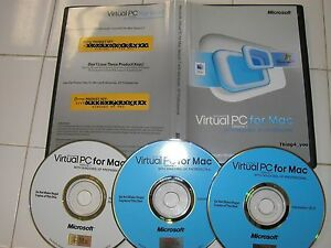Microsoft Virtual PC 7 for Mac with Windows XP Professional MS Win Pro =NEW=