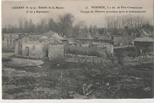 POSTCARD  MILITARY WWI  NORMEE  After the Bombing