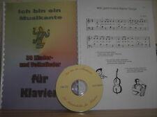 30 Kinderlieder für Klavier - Noten+CD
