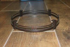 VGUC Hunter Ceiling Fan Craftsman Mission Light Kit Bronze ORB Beauty Trim Ring.