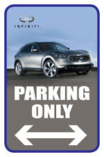 "Infiniti 12""x18"" Full Color Auto Parking Sign"