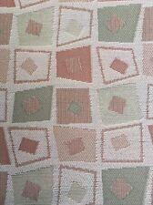 Upholstery Crypton Fabric Square Geo Gold Green Orange 4 Yards