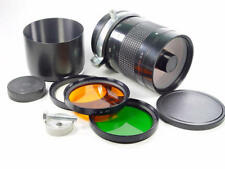 Exc++ !! Reflex mirror telelens MC Rubinar Macro 10/1000 M42 020064. Kit in case