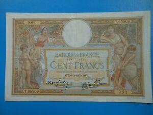 100 francs Luc-Olivier Merson 6-4-1939 F25/45 TTB