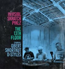 Invisibl Skratch Piklz The 13th Floor Vinyl LP DJ Qbert D-Styles Shortkut Blue