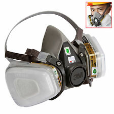 7in1 Safety Anti-Dust Mask Industry Spray Painting Gas Mask For 3M 6200