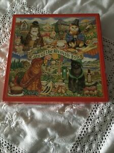 Jigsaw - Cats Of The British Isles 1000 Pieces
