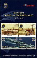 CHILE, REVISTA NAVAL DEL BICENTENARIO 1810-2010, BROCHURE, YEAR 2010