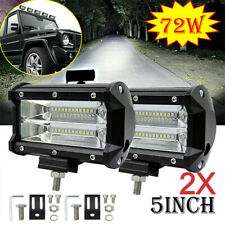 2 X 72w Led Luce Lampada Faro Da Lavoro Work Light Faretto Camion Trattore 12V