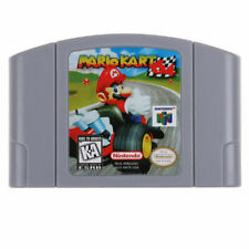 Mario Kart 64 Video Game Cartridge Console Card  Version For Nintendo N64