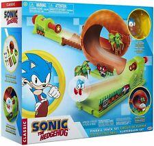 Sonic The Hedgehog Pinball Green Hill Zone Pinball Track Play Set BRAND NEW