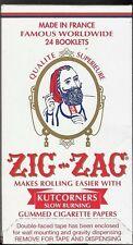 ZIG ZAG KUTCORNERS 1.0 70MM CIGARETTE ROLLING PAPERS FULL BOX OF 24 PACKS