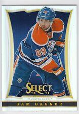 SAM GAGNER 2013-14 Panini Select Hockey Prizm Card #116 Oilers N14