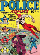 Golden Age Police Comics on DVD