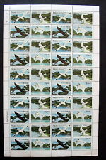 PALAU 1984 BIRDS AIRMAIL STAMPS  - FULL SHEET  ( 40 stamps)