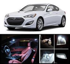 2010 - 2015 Hyundai Genesis Coupe Premium White LED Interior Package (7 Pieces)