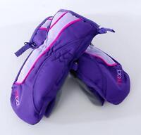 *NEW!* HEAD Jr Ski Mittens Kids Girls  Sorona Zip Thermal Waterproof Snow Gloves