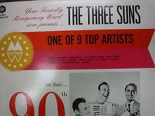 The Three Suns 90th Anniversary 33RPM 020416 TLJ