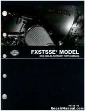 2008 Harley Davidson Fxstsse2 Motorcycle Parts Manual : 99458-08