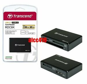 Transcend RDC8 Card Reader USB3.1 for CF/SD/SDHC/SDXC/Micro SD SDHC SDXC AU