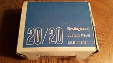 Westinghouse panel meter  0-125 AC AMPERES NEW IN BOX FREE SHIPPING
