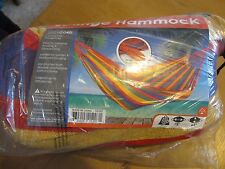Lounge Hammock - Multicord - With Carrying and Storage Bag - Rainbow