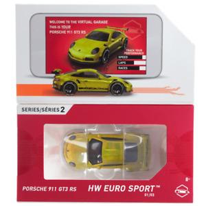 [Pre-Order] Porsche 911 GT3 RS - HW Euro Sport - Hot Wheels ID (2021)
