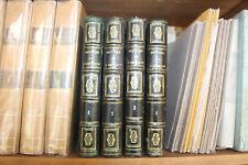 W. ROBERTSON - Histoire de l'Amérique - 4 vol. cuir ed. Janet et Cotelle 1834