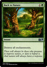 Back to Nature from Magic the Gathering Magic 2015 Set in NMint-Mint Condition