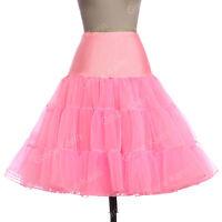 Retro Underskirt 50s 60s Swing Vintage Petticoat Rockabilly Tutu Fancy Skirt HOT