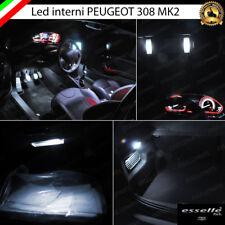 KIT LED INTERNI COMPLETO PEUGEOT 308 II PER VERSIONI CON LED DI SERIE 6000K