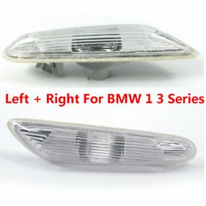 L+R Set For BMW 06-13 E90 E82 1 3 Series Fender Lamp Light Signal Indicator