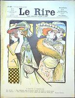 Le RIRE N° 428 - 17 Janvier 1903 - a chacune sa marseillaise
