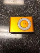 Apple iPod Shuffle 2nd Gen A1204 (ORANGE) 1GB FREE SHIP