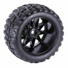 Power Hobby Raptor XL Belted Tires on Viper Wheels for Traxxas X-Maxx 8S (2)