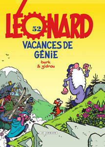 BD - LEONARD, TOME 52 > VACANCES DE GENIE / ZIDROU, TURK, EO LOMBARD