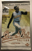 2001 Upper Deck MLB SP Game Bat Edition Factory Sealed Pack Amricons