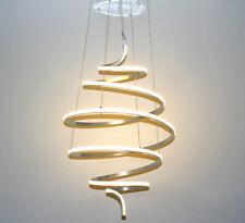XXL Led Hängelampe Pendel Decken Lampe Leuchte Spiral Groß 60x100cm Kronleuchter