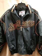 San Francisco Giants Baseball Jacket Authentic Majestic Size M Fleece Lined
