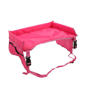 Waterproof Baby Stroller Snack Trays Baby Cart Toys Holder Table Solid Color New