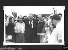 MERCEDES LE MANS 1952 ALFRED NEUBAUER FRITZ RIESS HERMANN LANG  FOTO PHOTOGRAPH